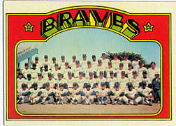 1972 Topps Baseball Cards      021      Atlanta Braves TC